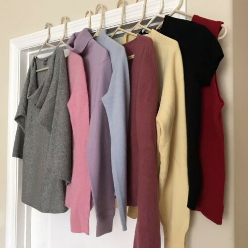 8 Cashmere Women's Sweaters for Upcycle-Various si
