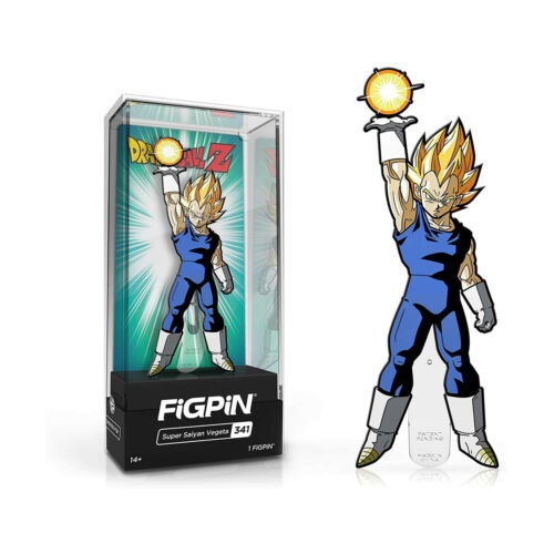 Figpin Dragon Ball Super Saiyan Vegeta Collectible Pin #341 NEW IN STOCK