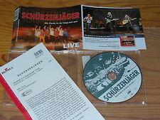 Grembiuli Cacciatore-La festa is no Lang Net da; Live/1 Track Maxi-CD & Info-fact