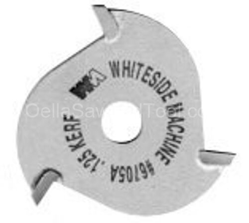 "3 Wing Slot Cutter 1-7//8/"" Dia Whiteside 6709A 3//16/"" Kerf 5//16/"" Bore"