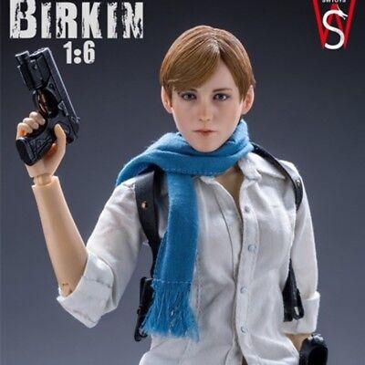 SWtoys 1//6 FS017 Resident Evil 6 Sydney Birkin Platinum Removeable Figure Model