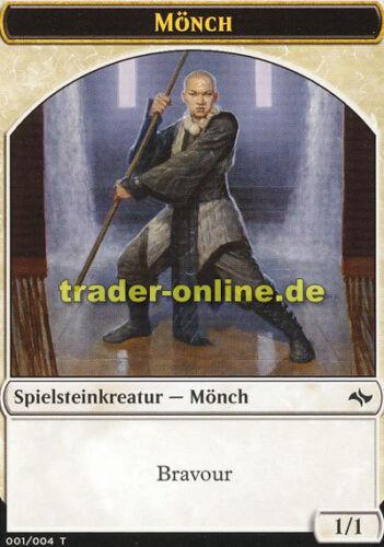 Spielstein Mönch Fate Reforged Magic Token - Monk