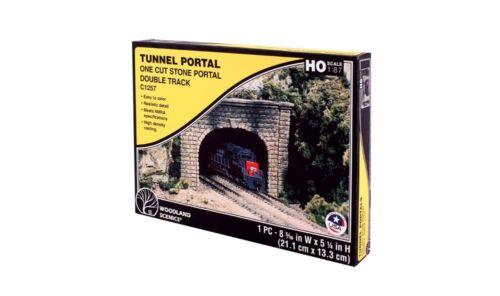 Woodland scenics wc1257 h0 tunnel portail être double pierre naturelle aspect