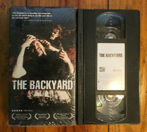 Very Rare THE BACKYARD VHS Tape Wrestling Documentary WWE ...