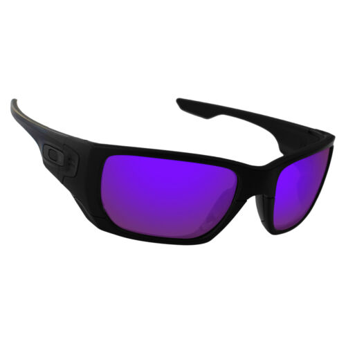 Hawkry Polarized Replacement Lenses for Style Switch Plasma Purple Mirror