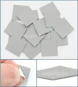 20pc-25-x-25mm-Silicone-Based-Thermal-Pad-Conductive-Adhesive-Tape-Heatsink