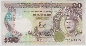 Mazuma *M1255 Malaysia 6th $20 TG6847715 EF Net