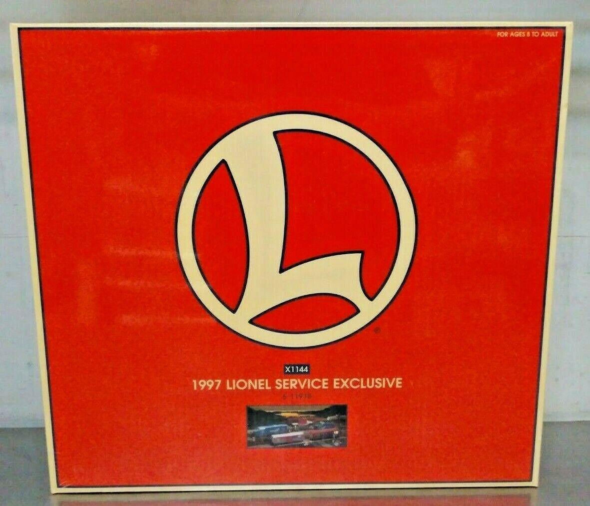 Lionel 611918 o scale 1997 Lionel servizio esclusivo Motore Diesel Set X1144