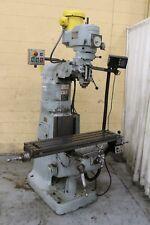 2 Hp Bridgeport Vertical Knee Mill Yoder 70645