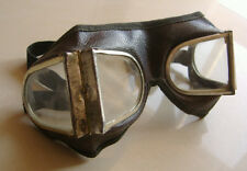Komische alte Staubschutz - / Fliegerbrille zum Klappen