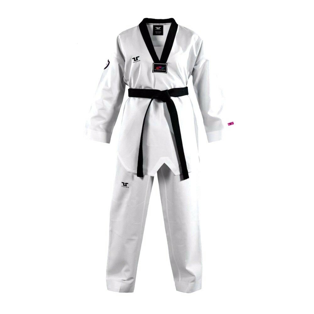 New TUSAH Taekwondo FIGHTER Uniform  WTF Professional Competition Fighter's Gi