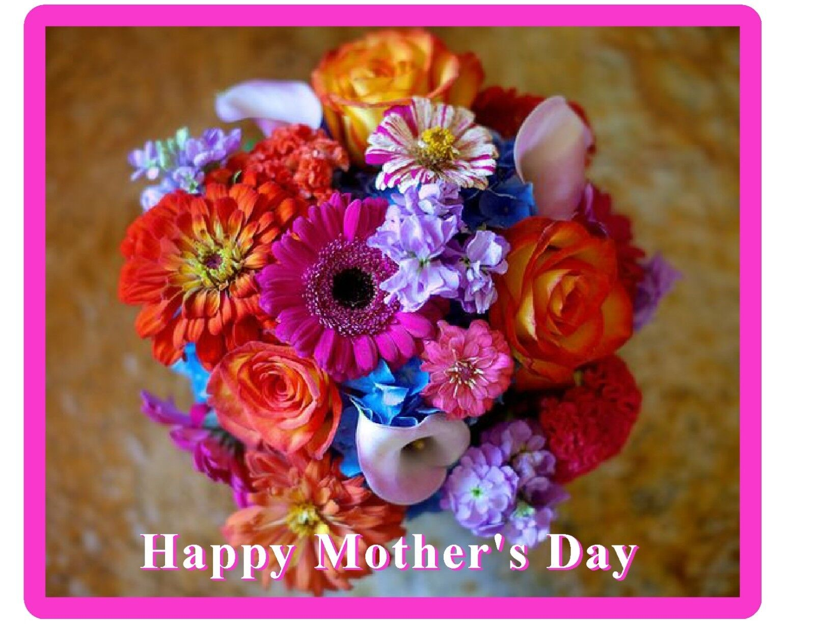 Mothers Day Happy Flowers Art Greetings Gift Card Cs1547 For Sale Online Ebay