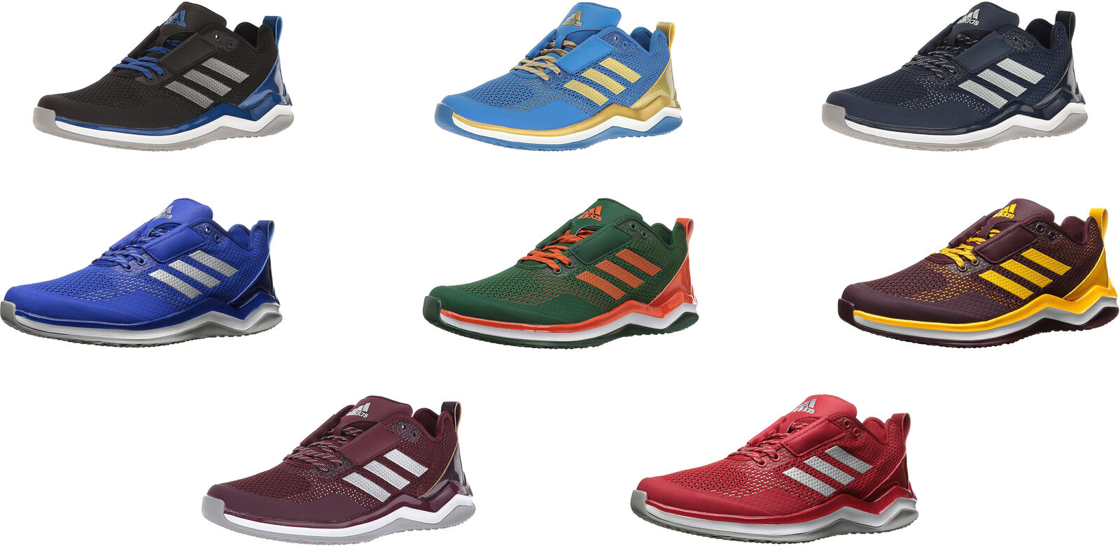 Adidas Men's Speed Trainer 3 Baseball shoes, 8 colors