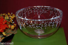 "Lenox Kate Spade Gardner Street Round Bowl Crystal 6"" New in Box 1Q"