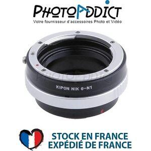 KIPON-NIKG-N1-Bague-d-039-adaptation-objectif-Nikon-G-vers-boitier-Nikon-1