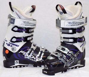 99e6c30e Fischer Hybrid 8+ Vacuum Used Women's Ski Boots Size 23.5 #564584   eBay
