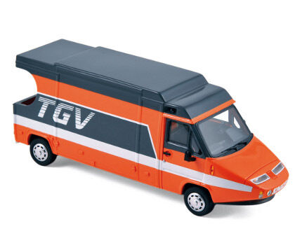TGV 1983 Orange gris Van 1 43 Model Provence Moulage