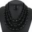 Women-Bohemian-Choker-Chunk-Crystal-Statement-Necklace-Wedding-Jewelry-Set thumbnail 146