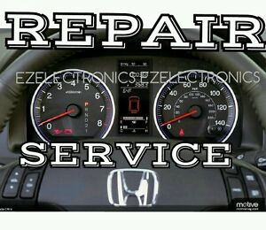 Honda CR-V instrument cluster REPAIR SERVICE 07 08 09 10 ...