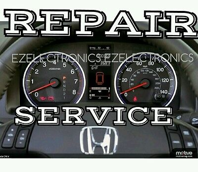 2007 TO 2011 HONDA CR-V INSTRUMENT CLUSTER REPAIR SERVICE