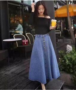 Long-Denim-Skirt
