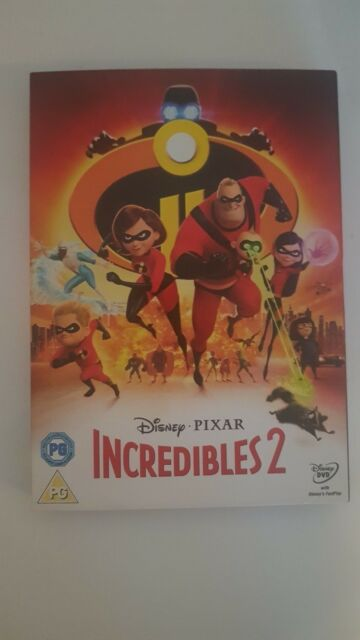 incredibles 2 dvd  2018 new but not sealed