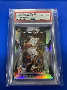Zion-Williamson-2019-Panini-Prizm-DP-Rookie-Silver-1-PSA-10