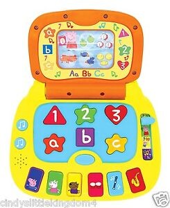 Peppa-Pig-My-First-Interactivo-Educativo-Portatil-con-Luces-y-Musica