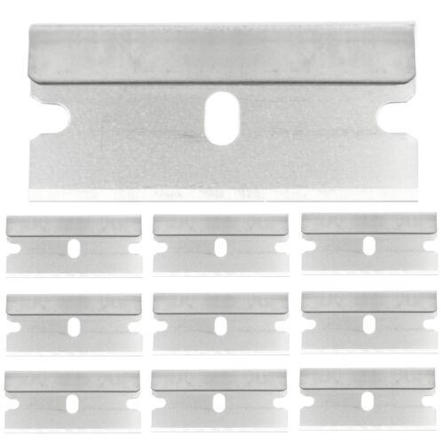 10 pièces de rechange lames glasschaber ceranfeldschaber glasfeld remplacement lame 40mm