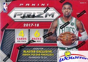 2017-18-Panini-Prizm-Basketball-EXCLUSIVE-Sealed-Blaster-Box-AUTOGRAPH-MEM