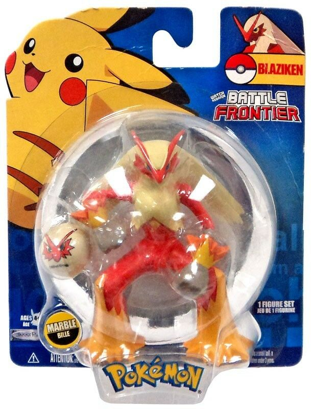 Pokemon Battle Frontier Series 2 Blaziken Figure