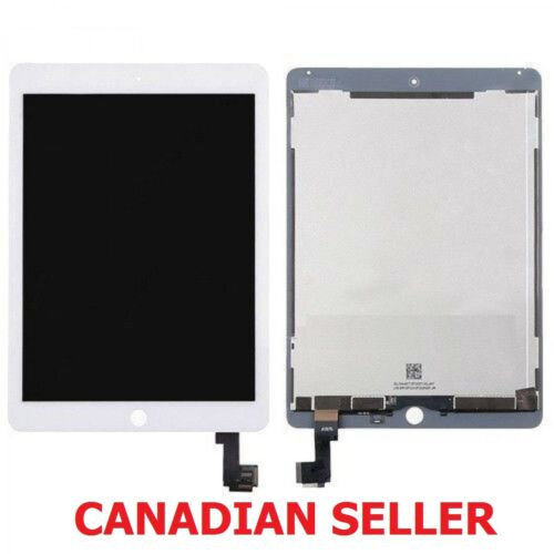 New iPad Air 2 A1566 A1567 LCD Digitizer Touch Screen Combo Replacement White