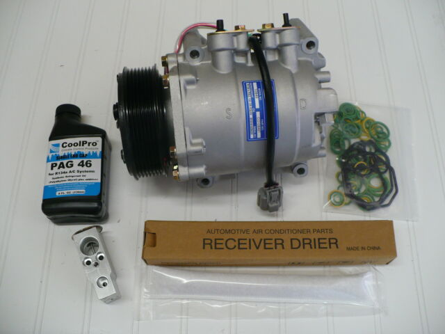RYC Reman AC Compressor EG886 Fits 2004 2005 2006 2007 2008 Acura TSX 2.4L