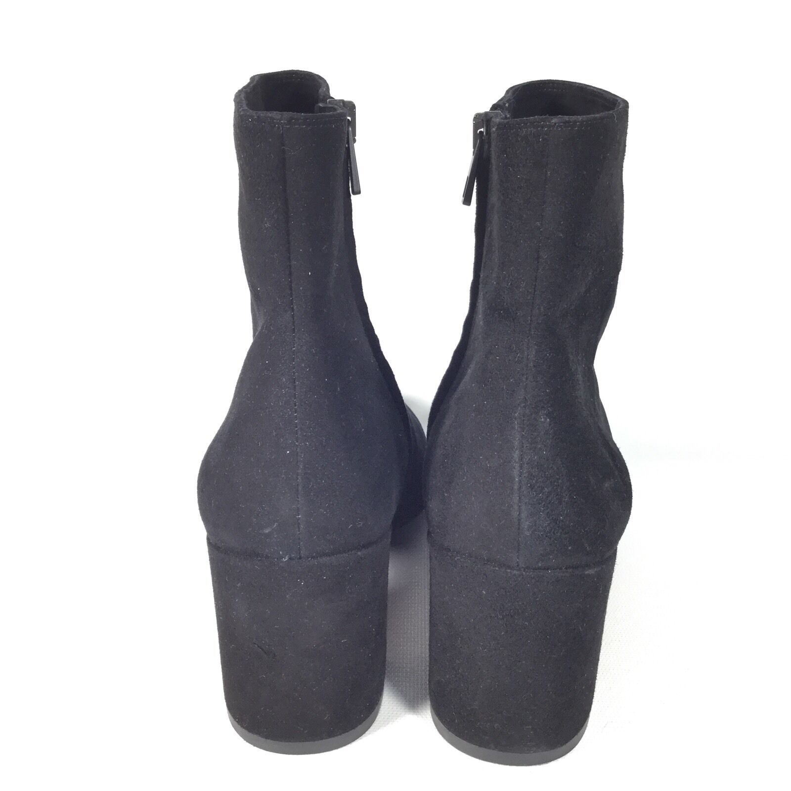 Vince Blakely Women's Size 8.5 Black Suede Heel Ankle Ankle Ankle Boots. 84fd8e