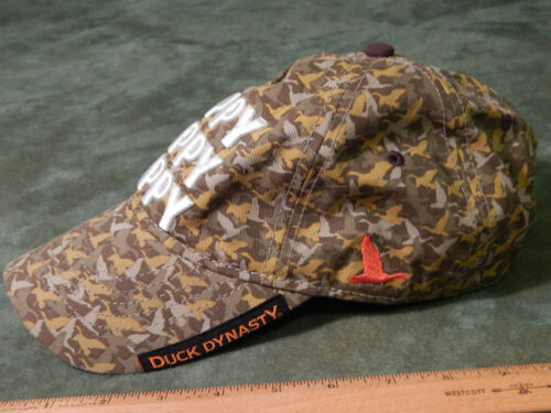 "Duck Camoflauge ""Happy Happy Happy"" (HAT_CAP) Duck"