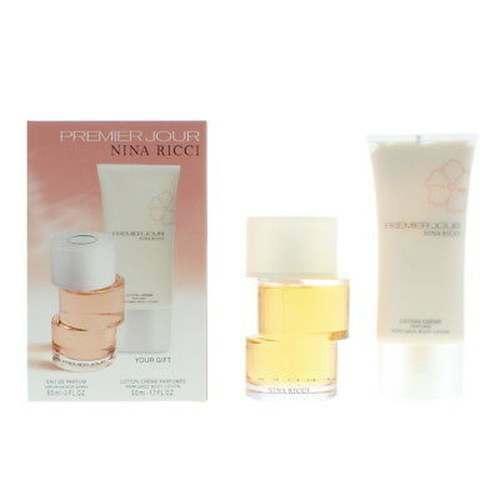 50ml De 60ml Ricci Corps Parfum Lait Premier Jour Coffret Pour Eau Le Nina ym8N0wvOn