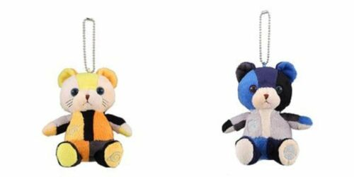 NARUTO Exhibition Limited Plush Doll Narutoa Sasuke Bear Set