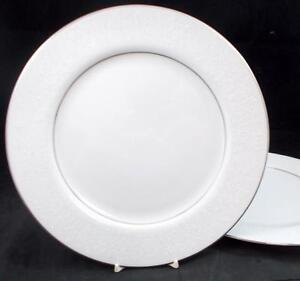 Image is loading Crown-Victoria-LOVELACE-2-Dinner-Plates-1001-1002- & Crown Victoria LOVELACE 2 Dinner Plates 100110021003 GOOD ...