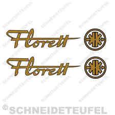 KREIDLER FLORETT AUFKLEBER SET GOLD SCHWARZ - 30779