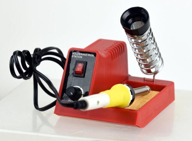 Soldering Iron Station Lightweight Pencil Safety Guard Foam Grip 40 Watt Gift