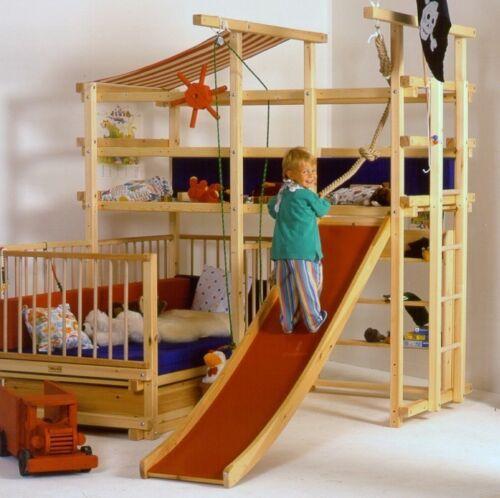 Kinderhochbett mit rutsche selber bauen  Abenteuerbett Selber Bauen | daredevz.com