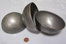 """Hot Rolled Steel Half Sphere / Balls 5.00"""" Diameter x 2.50"""" Height, 5 Pieces"""