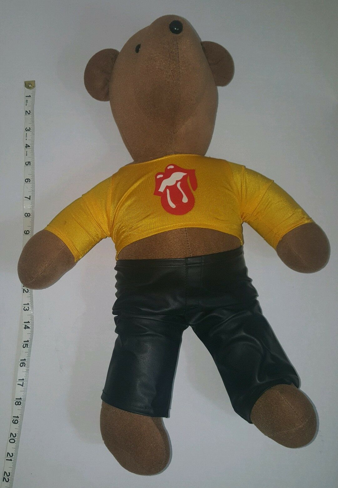 Vintage North American Bear Co 1979 Rolling Rolling Rolling Stones T Shirt Leather Pants No Tag 2827c6