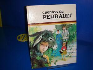 Libro-CUENTOS-DE-PERRAULT-tapa-dura-anos-80