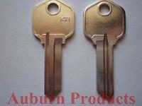 Kw1 Kwikset Key Blanks Brass / Pkg. Of 49 / Free Shipping