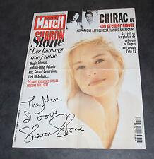 Affiche Pub Paris Match Sharon Stone 59x78 cm