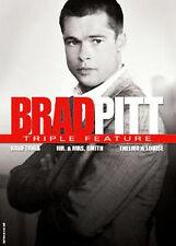 NEW 3DVD SET // Brad Pitt // THELMA & LOUISE & KALIFORNIA,  & MR.&MRS SMITH