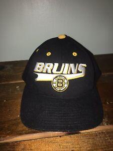 4b78820bcd4 Image is loading Boston-Bruins-Wool-NHL-Hockey-Snapback-Hat-Cap-