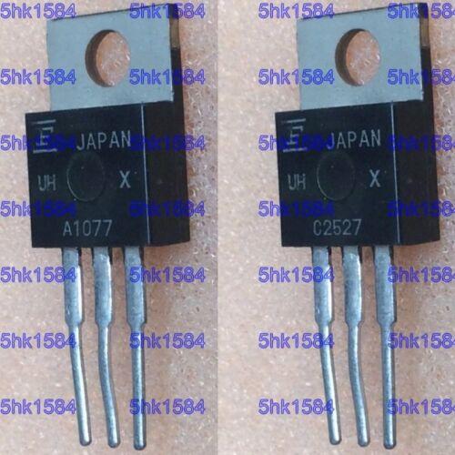 1pairs  Transistor FUJISTU TO-220 2SA1077//2SC2527 A1077//C2527