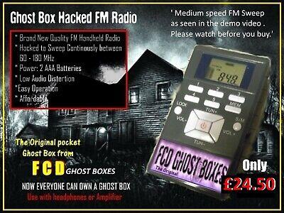 FCD Quartz Crystal Radio Ghost Box Antenna Booster for hacked radio ghost box